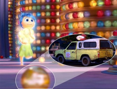 The pizza planet truck is inside the orb in Inside Out. www.zimbio.com